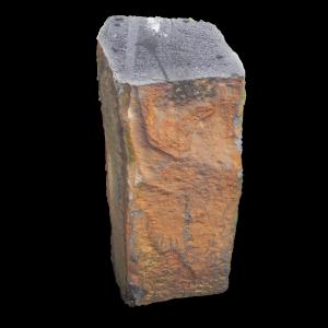 RW 008 grafsteen Apeldoorn, basalt zuil grafmonument Epe