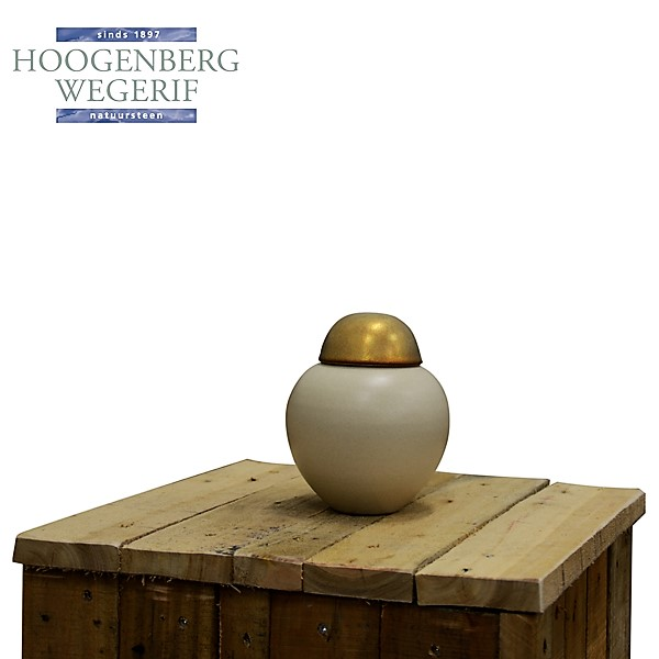 kleine keramiek urn