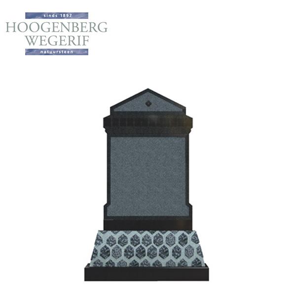 Klassiek uitgevoerde grafsteen
