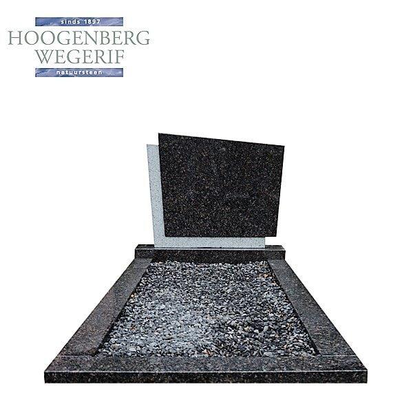 Grafsteen Mahogany graniet