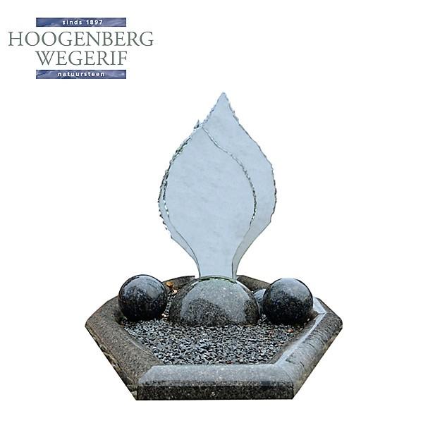 grafsteen glas met graniet