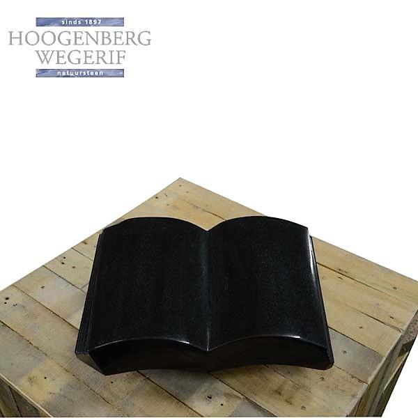 Graniet boek gepolijst zwart graniet