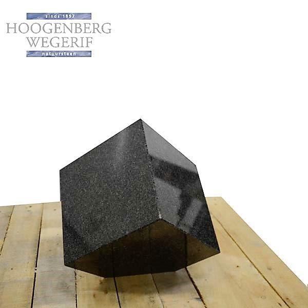 Trapezium vorm bijzetsteen
