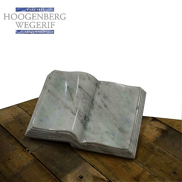 Wit marmer boek