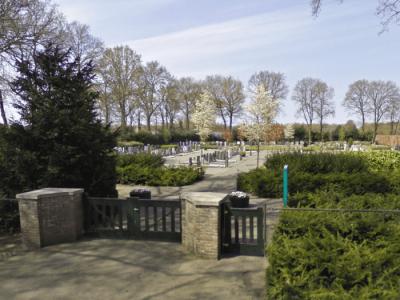 Begraafplaats Westerveld Terschuur