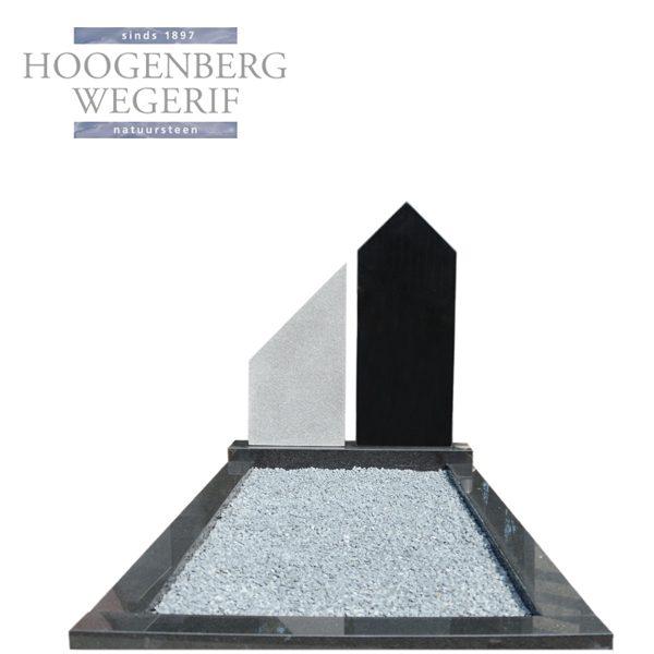 zwart graniet grafsteen