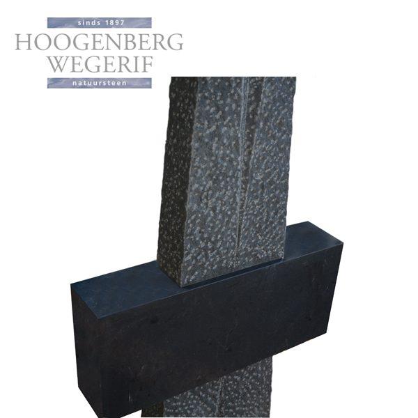 zwart graniet kruis